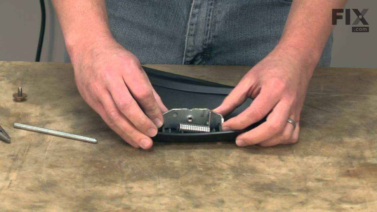 Troy Bilt Lawn Mower Repair How To Replace The Chute