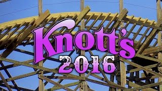 Knotts Berry Farm 2016: Ghostrider update (NEW TRACK IN PLACE!)