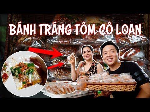 Bánh tráng tôm cô Loan 20 năm vẫn đắt khách || 360 ĐỘ NGON