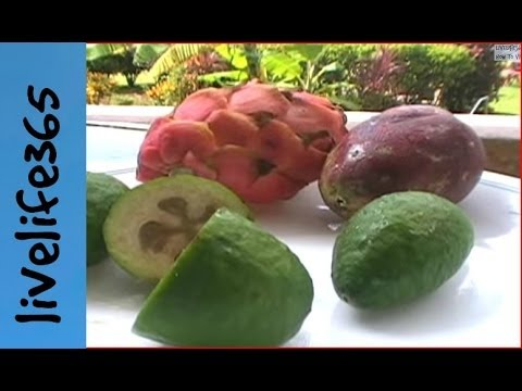 How To Eat Pineapple Guava Fruit