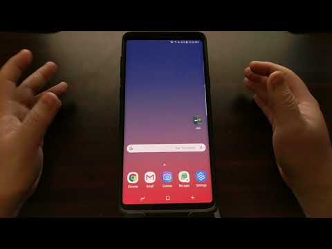 Galaxy Note 9 | Stopping An App From Sleeping