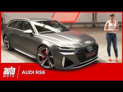 Audi RS6 (2019): pour les familles pressées