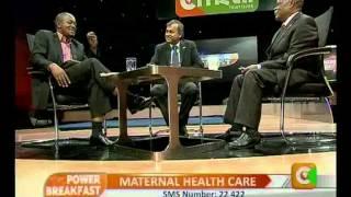Power Breakfast Interview: Maternal Health Care