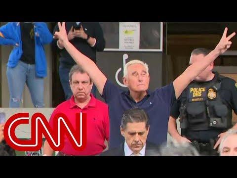 Roger Stone strikes Nixon pose: I will not testify against Trump
