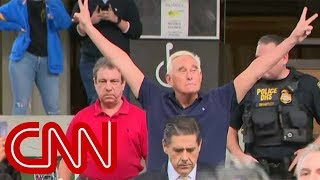 Roger Stone strikes Nixon pose: I will not testify against Trump