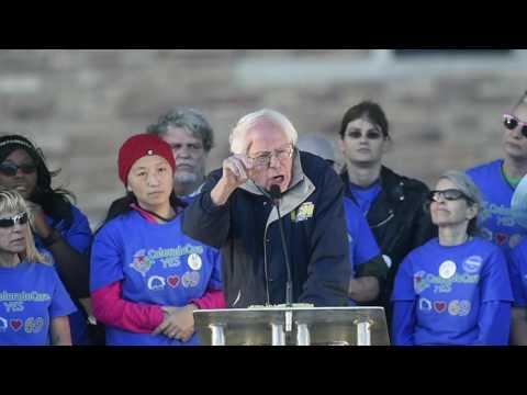 Bernie Sanders Colorado Amendment 69 Rally