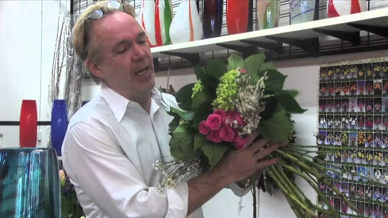 Michael Gaffney Of San Francisco School Of Flower Design Tips On