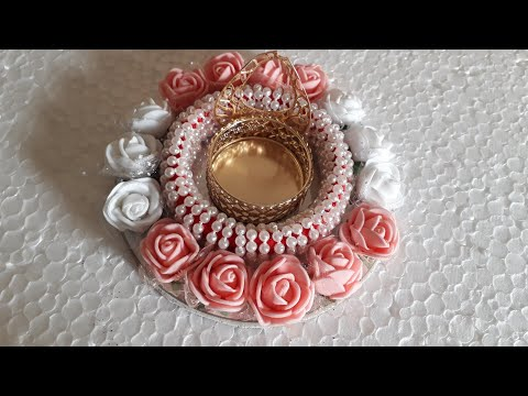 D.i.y how to make tealight holder/ candle stand for Diwali and  christmas home decorations 2018