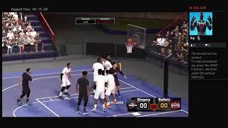 NBA2K19 raptors vs warriors