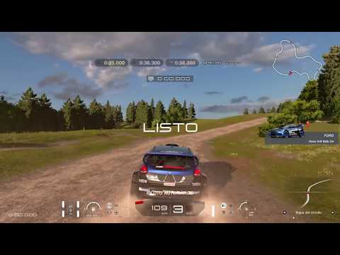 COLORADO SPRINGS LAGO FORD FOCUS RALLY EXPERIENCIA CIRCUITOS Gran Turismo™SPORT PS4 GAMEPLAY