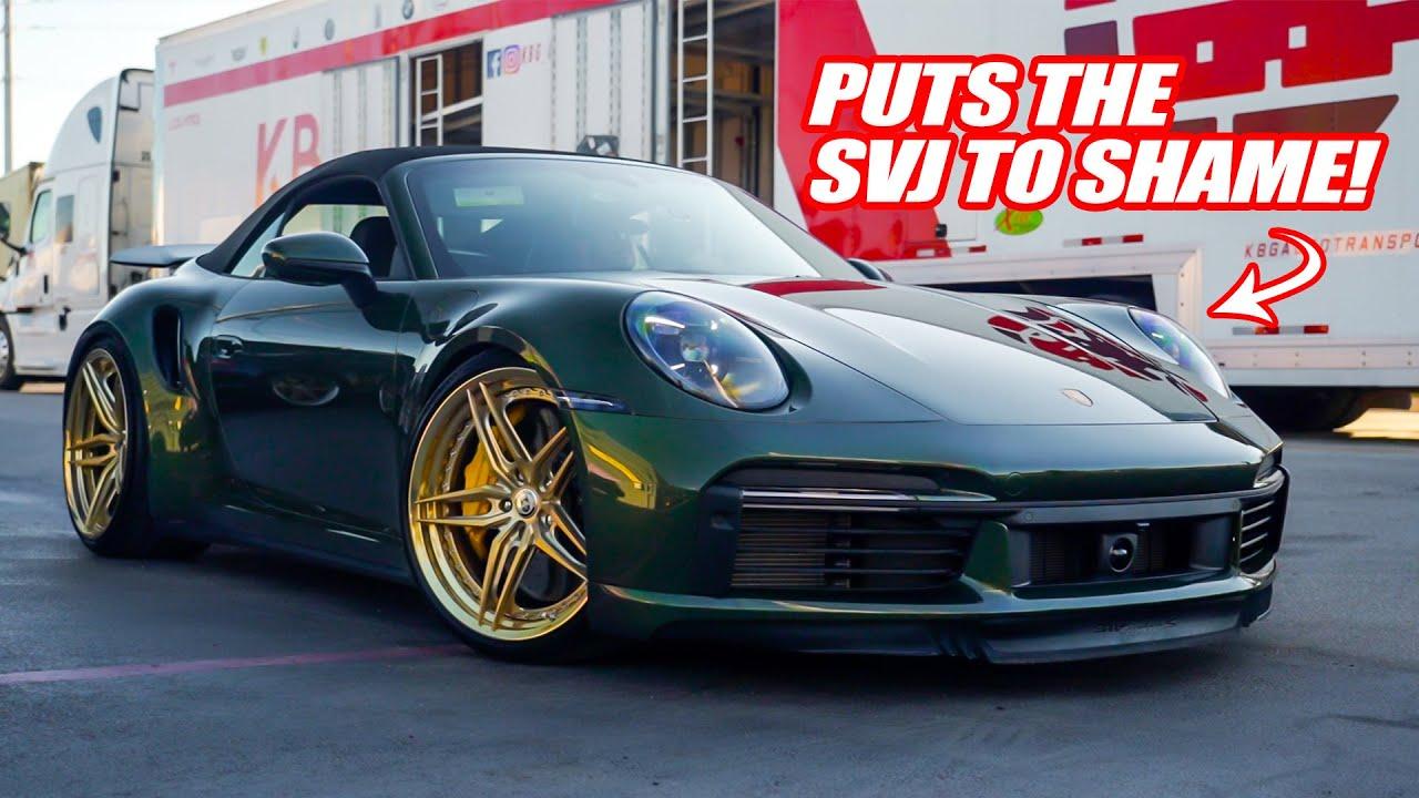 THE NEW PORSCHE 911 TURBO S IS STUPID FAST! *Fastest Porsche I've Ever Driven!*