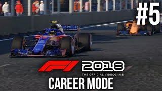 F1 2018 Career Mode Gameplay Walkthrough Part 5 - WEEKEND TO FORGET - BAKU (Round 4)