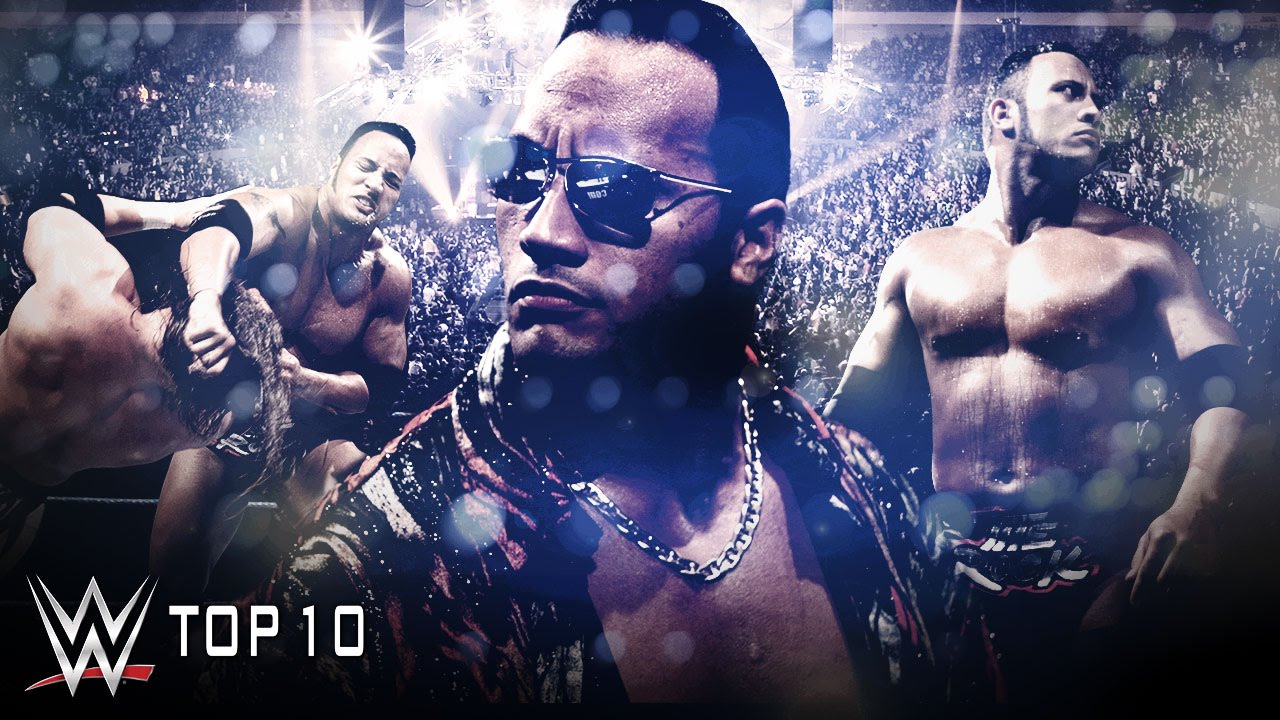 the rock layeth the smackdown on wwe top 10 wwe top 10 youtube