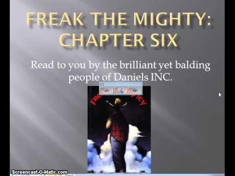 Freak the Mighty chapter 6