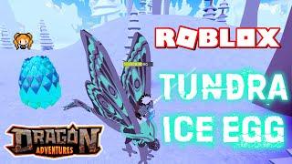 ROBLOX DRAGON ADVENTURES TUNDRA! Encontrando + chocando ovos de gelo, obtendo neve, novas traças!