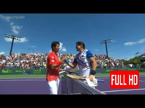Kei Nishikori vs David Ferrer Miami 2014 Fourth Round Highlights HD  / Grigor Dimitrov