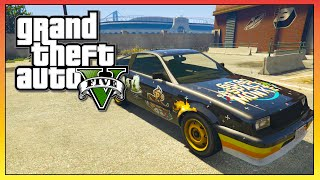"GTA 5 - SECRET ""Go Go Space Monkey"" Blista Compact! - Rarest Car In GTA 5! (GTA V)"