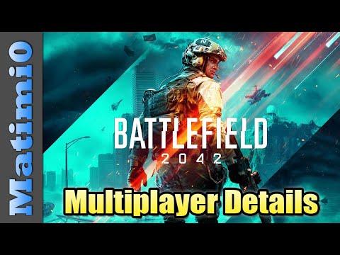 Battlefield 2042 All Multiplayer Details Revealed