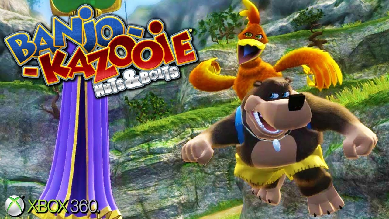 Banjo-Kazooie: Nuts & Bolts - Xbox 360 Gameplay (2008 ...
