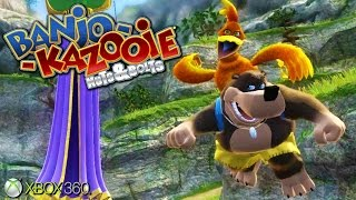 Banjo Kazooie Nuts Bolts Xbox 360 Gameplay 2008