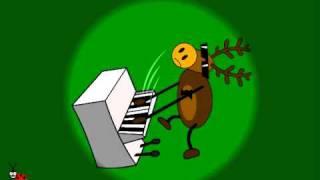 Funny  Animated E-card. Christmas Band .