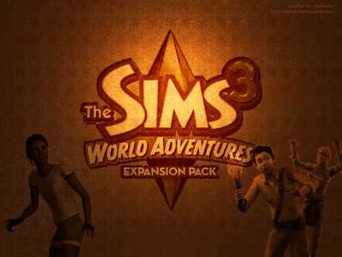 the sims 3 world adventure egypt 1 youtube. Black Bedroom Furniture Sets. Home Design Ideas