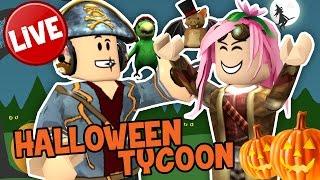 Roblox ITA (LIVE) - Halloween Tycoon - Tycoon En direct! :D