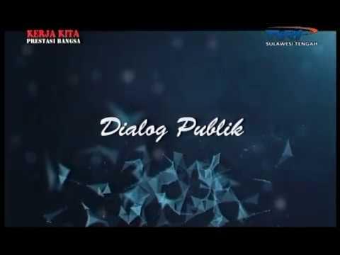 """""""Dialog Publik"""" Pekan Seni Media 2018 oleh TVRI Sulawesi Tengah"""