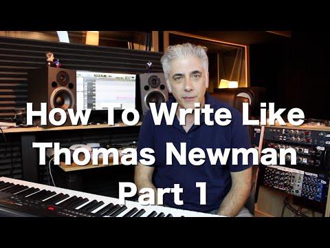 How To Write Like Thomas Newman! Secrets of Film Scoring Part 1