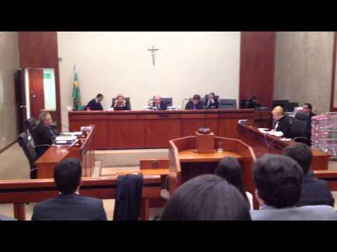 Sessão da 5a turma do TRF-1 sobre Belo Monte