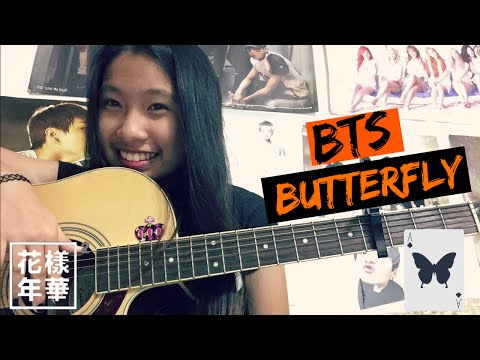 BTS (방탄소년단) - Butterfly Acoustic Cover | Princess Tsugawa