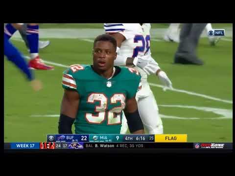 Bills vs. Dolphins FIGHT - Jarvis Landry, Kenyan Drake Ejected (Bills at Dolphins)