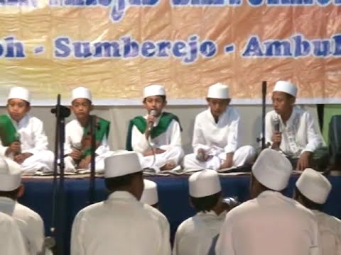 JAM'IYAH SHOLAWAT NABI AL-AMIEN JUNIOR AMBULU JEMBER