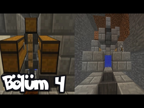 AFK BALIK FARMI ve OTOMATİK MİNİ FARM | Bölüm 4 | Minecraft Survival 1.11.2