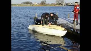 How to build a wooden speedboat
