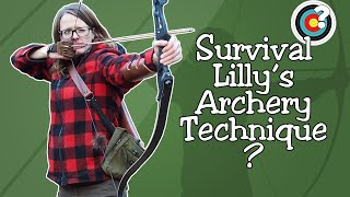 Archery | A Commentary on Survival Lilly's High Draw Technique