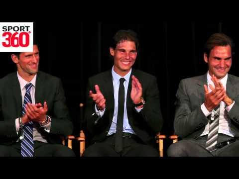Roger Federer on rivalries with Rafael Nadal and Novak Djokovic
