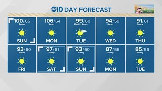 Temperatures are looking to break records this memorial day weekend across the sacramento region.