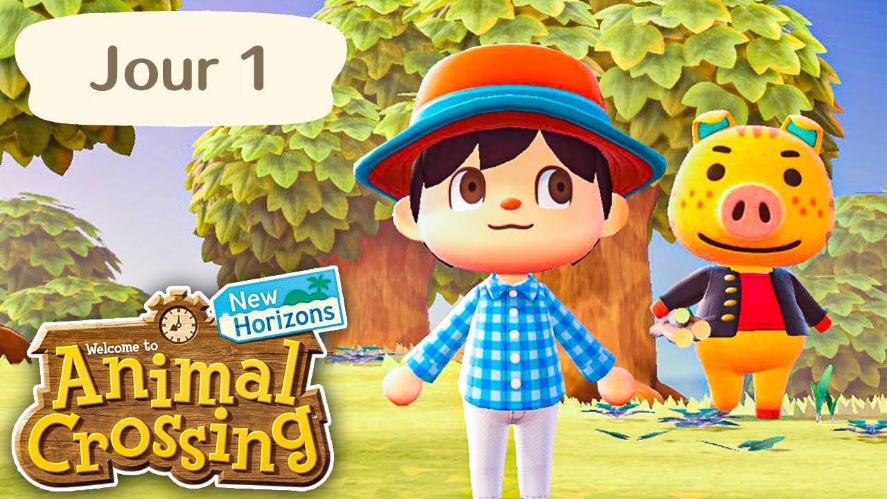 Download Animal Crossing : New Horizons | Jour 1 | Bienvenue sur mon Île !
