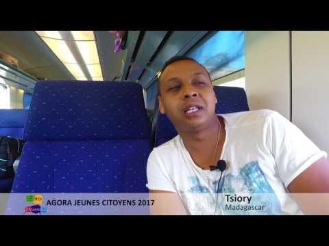 Agora Jeunes Citoyens 2017 _ Tsiory et Timothée en parlent