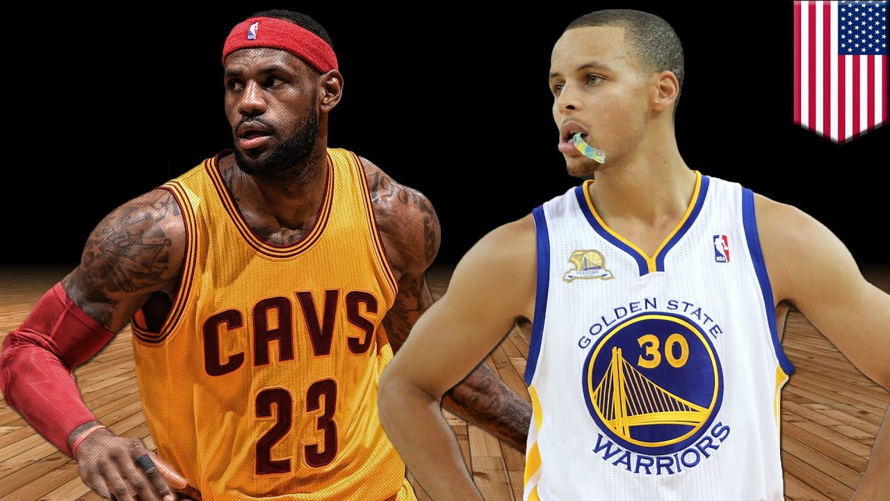 NBA Finals 2015: MVP Steph Curry battles King James for the crown - TomoNews - YouTube