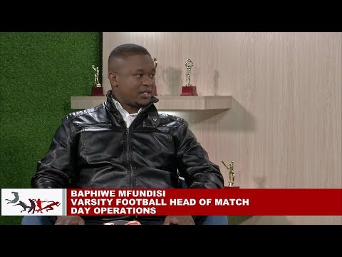 Varsity Football South Africa - Baphiwe Mfundisi, Head of Match-day Operations