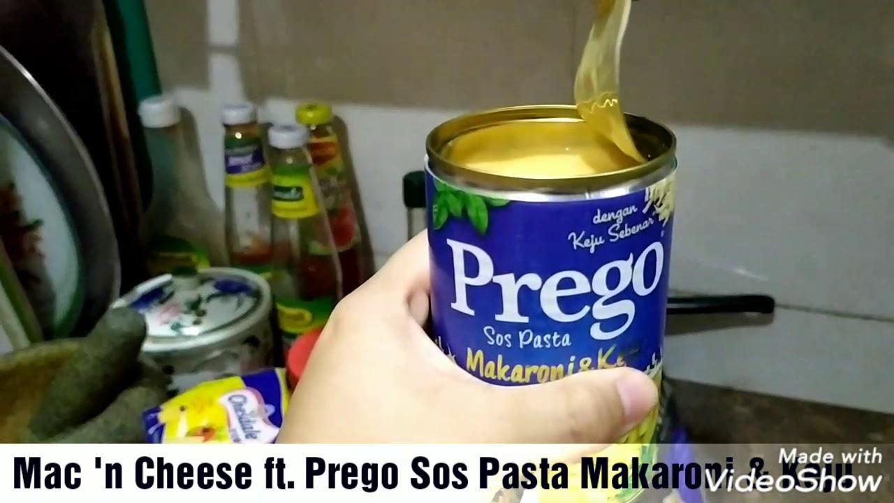 Makaroni Keju Bakar Ft Prego Sos Pasta Makaroni Keju