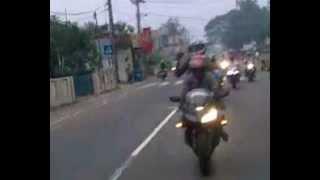 sri lankan bikers road trip
