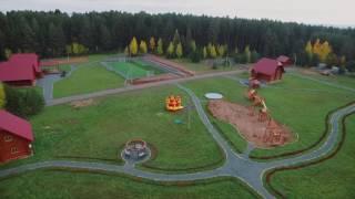 видео Cемейный отдых - База отдыха «Озеро Зеркальное»