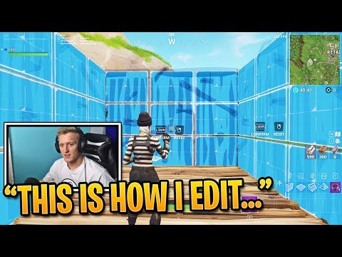 Tfue Teaches You How to Edit Faster in Fortnite | Fortnite Best Moments #98