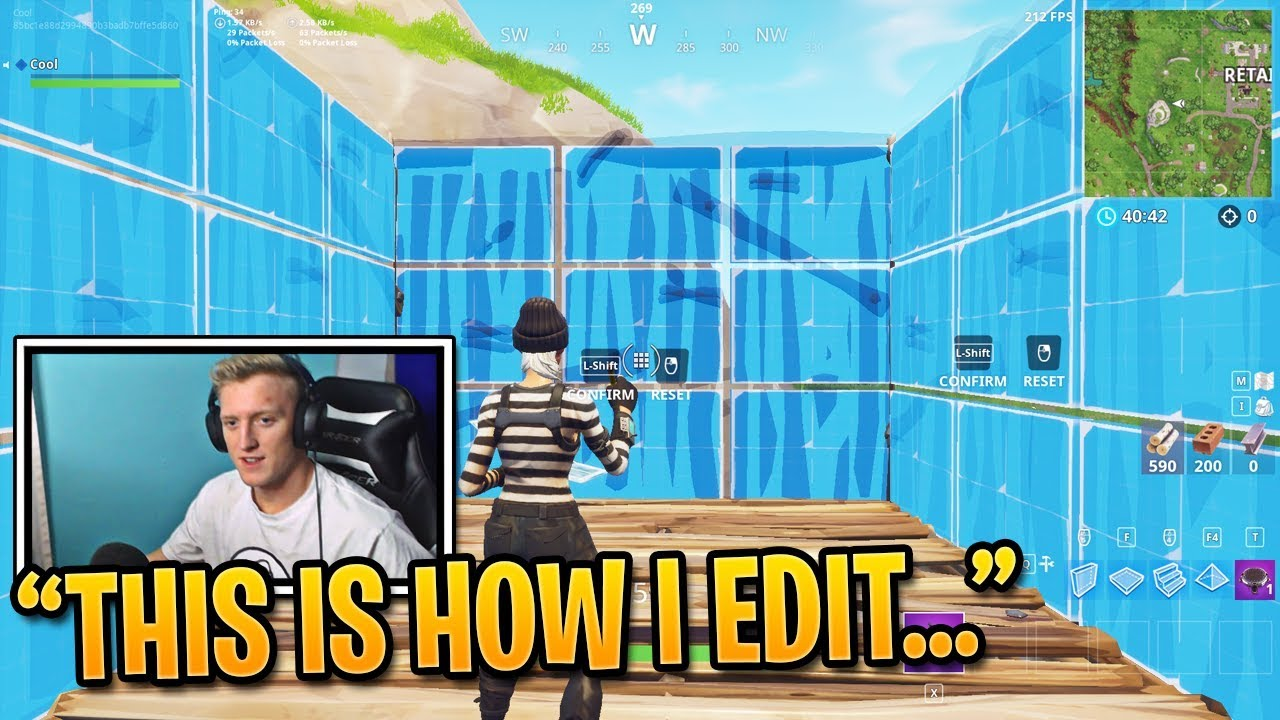 fortnite how to edit quickly