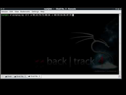 Crack Wifi Key WPA2 With BackTrack 4 Final