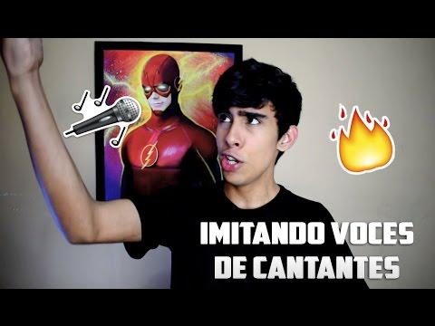 PUEDO CANTAR?! IMITANDO VOCES DE CANTANTES - SINGER/RAPPER IMPRESSIONS | Carlos Fonseca