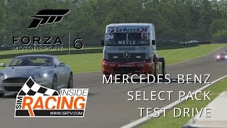 Forza Motorsport 6 Select Car Pack Test Drive - Mercedes-Benz Racing Truck at VIR